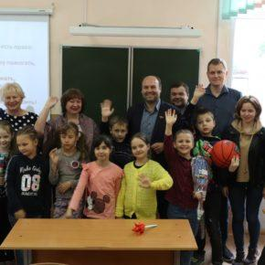 Рязанские коммунисты навестили учеников школы №39