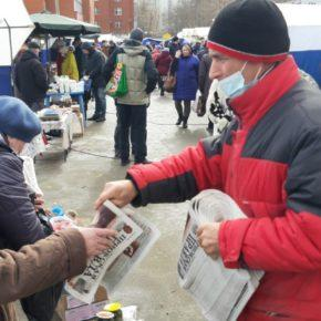Коммунисты Советского района знакомятся с проблемами жителей и решают их