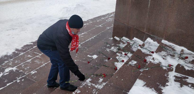 Рязанские коммунисты почтили память В.И. Ленина