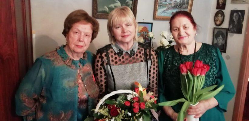 День рождения отмечает Марта Рождественская, возглавлявшая Октябрьский КР КПРФ в 90-х годах