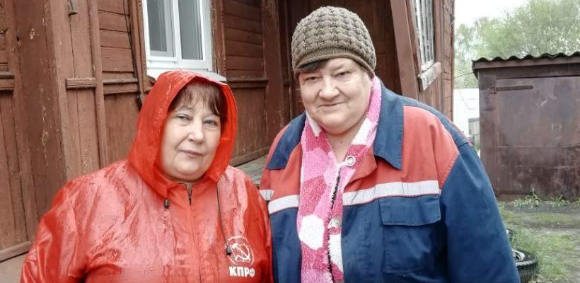 """Спасские коммунисты участвуют в акции """"Своих не бросаем"""""""