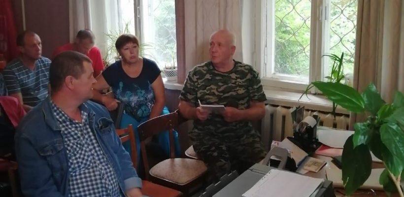 Состоялось собрание Кораблинского РК КПРФ