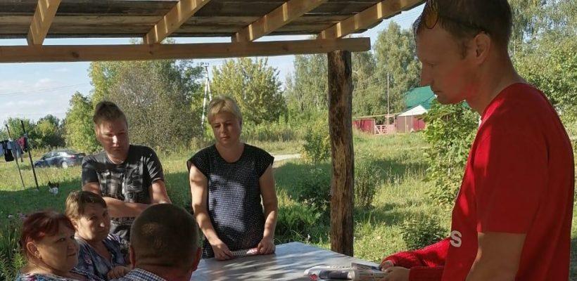 Встреча с кандидатом в депутаты облдумы прошла в селе Ключ