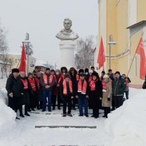 День Советской Армии и Военно-Морского Флота в Сасово