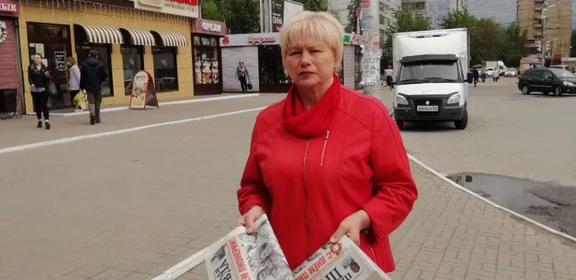 Еженедельные пикеты в Дашково-Песочне