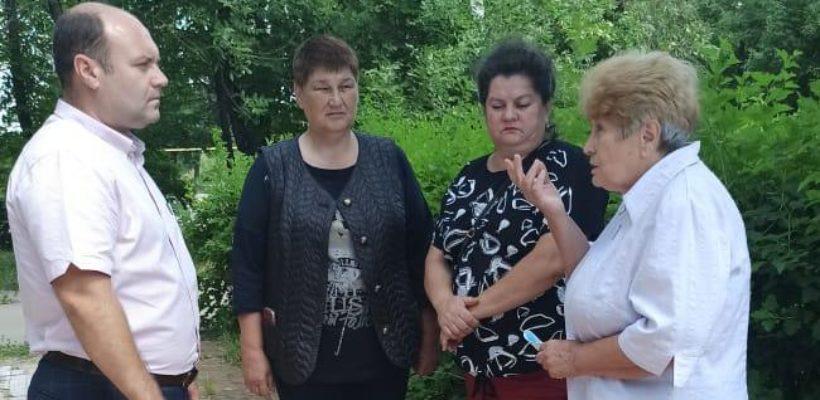 Денис Сидоров и Евгений Морозов посетили Захаровский район