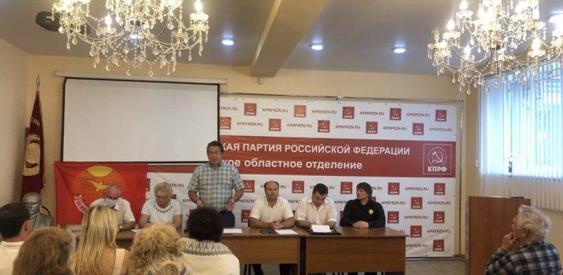 Продолжается ежедневная агитация в Рязанской области