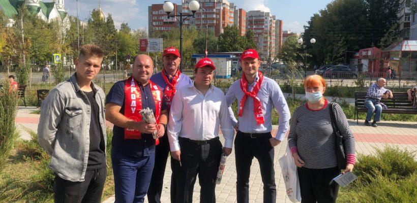 Кандидат в депутаты Государственной Думы Морозов Евгений Николаевич на встречах с населением