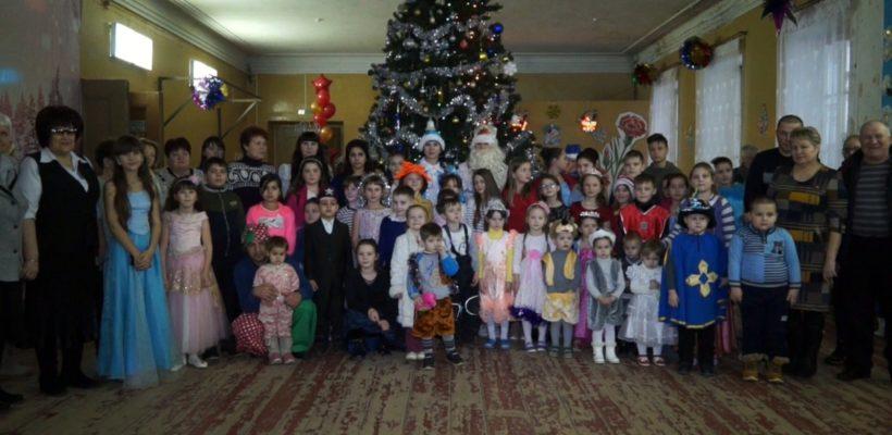 Новогодняя ёлка в Сасовском Доме Культуры