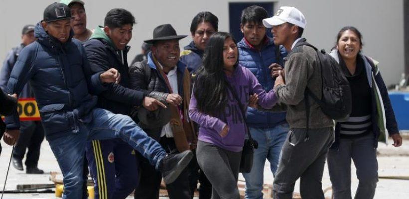 Мародерство, неопределенность и хаос: Боливия после отставки Моралеса