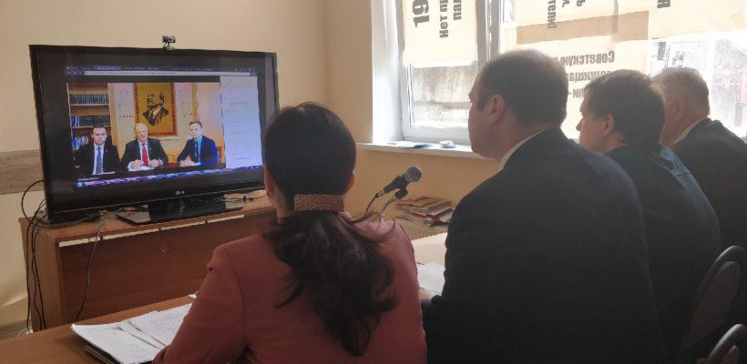 Состоялся телемост секретариата обкома с Г.А. Зюгановым