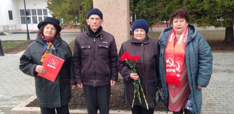 В день космонавтики спасские коммунисты посетили село Ижевское – малую родину К.Э. Циолковского